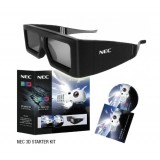 عینک مخصوص سه بعدی ویدئو پروژکتور NEC